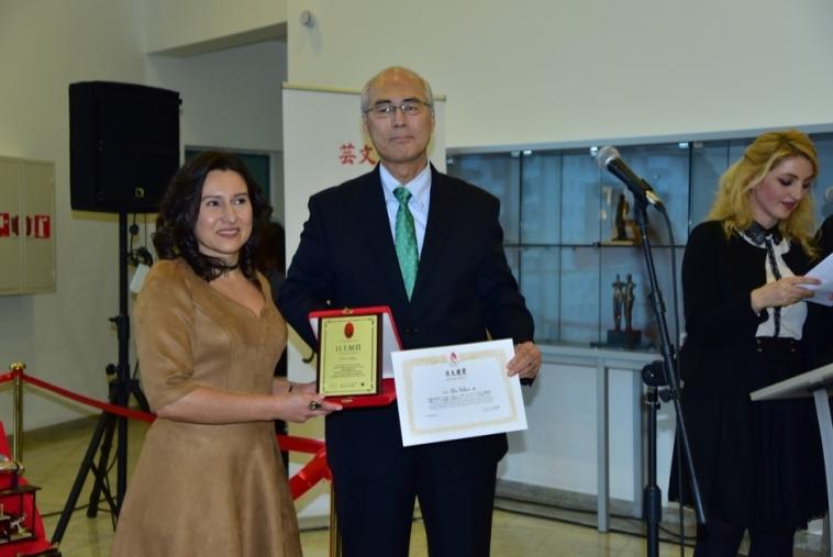ArtTurkey JAPAN 2016 Ödül Töreni